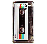 Tapes Pattern Hard Case for Samsung Galaxy S Advance I9070