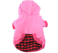 Flying Heart Pattern Hoodie Coat with Pocket for Dogs (Assorted Color,XS-XL)
