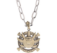 Un barco Proa Piece Símbolo Alloy Necklace