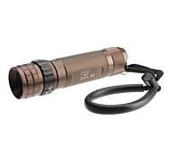 LED Flashlights / Handheld Flashlights LED 5 Mode 230 Lumens Cree XR-E Q5 18650 Others , Copper Aluminum alloy
