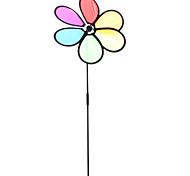 """11"""" 6-Petal Rainbow Garden Spinner"""