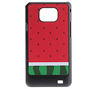 Flash Ontwerp Watermeloen patroon Hard Case voor Samsung Galaxy S2 I9100