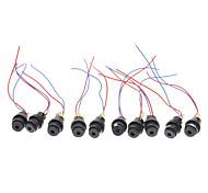 12mm 5mW rode laser diode modules (Black, DC 4.5V)