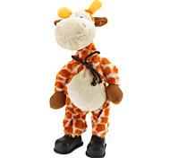 Singing and Dancing Toy Crazy Shaking Head Plush Deer (3xAA)