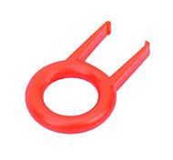 JM-208 Ring Type Computer Keyboard Key-top Puller (Red)