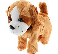 Singing and Dancing Toy Cute Walking Plush Puppy (3xAA)
