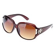 Fashion Coffee Lens Brown Frame Sunglasses