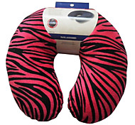 Leopard Printing U-Shape Travel Neck Pillow (Random Color)