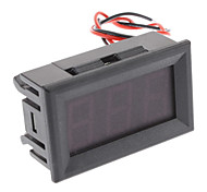 S3230 3-Digit LED rouge voltmètre numérique (DC 3.2 ~ 30V)