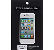 Protective Matte Screen Protector with Cleaning Cloth for iTouch 5