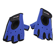 CAMEWIN Black+Blue Rubber+Cloth Non-slip/Warm Keeping Sports Gloves for Cycling/Motorcycle