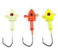 Sharp Stainless/Durable Hook for Fishing SLC001(3/Pack,Random Color)