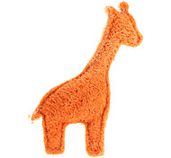 Dogs Toys Chew Toy Textile Orange / Beige
