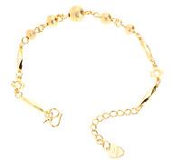 Тупые польские бисера позолоченный Bracelace