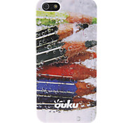 OUKU Pencil Pattern Hard Case for iPhone 5/5S