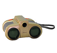 4x 30 mm Binoculars Night Vision Central Focusing Kids toys Gold
