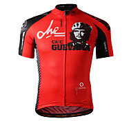 SPAKCT 100%Polyester Short Sleeve Breathable/Quick-Drying Men Cycling Jersey S13C02