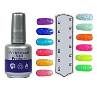 UV Color Sweet Builder Gel Nail Polish No.205-216(10ml,1PCS,Assorted Colors)