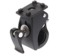 Motorcycle and Bicycle Clamp Style Universal Buckle Head Mount Stander for Camera