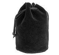 Protective Cotton Flannel Bag for Camera Lens C3 (80*140mm, Black)