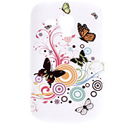 Schmetterling Muster Durable Soft Case für Samsung Galaxy Trend Duos S7562