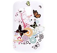 Modelo de mariposa Durable Funda para Samsung Galaxy Tendencia Duos S7562