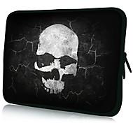"Schedel patroon 7 ""/ 10"" / 13 ""Laptop Sleeve Case voor MacBook Air Pro / Ipad Mini / Galaxy Tab2/Sony/Google Nexus 18150"