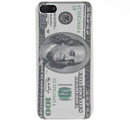 U.S. Dollar Pattern Hard Case for iPhone 5/5S