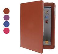 lichee Muster pu Ledertasche mit Ständer für iPad 2/3/4