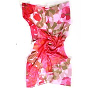 QTHY Bubble Print Georgette Scarf