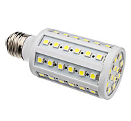 E26/E27 W 60 SMD 5050 630 LM Natural White Corn Bulbs AC 220-240 V