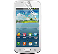 PET Material Samsung Screen Protecter for i8190(Transparent Film)