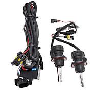 Xenon H13-3 High/Low Beam Conversion HID Lamp Bulbs for Car Headlight (12V-55W, 2-Piece)