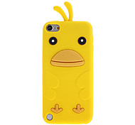 Lovely Cartoon Duck Design Soft Case for iPod Touch 5