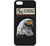 Eagle Pattern Hard Case for iPhone 5/5S