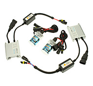 12V 35W 9006 HID Xenon Lamp Conversion Kit Set (Slim Ballast)