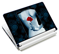 """Sexy Rose"" Pattern Laptop  Protective Skin Sticker For 10""/15"" Laptop 18350(15"" suitable for below 15"")"