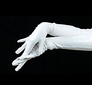 White Latex Shorlder Gloves