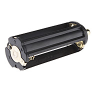 18650 Batterie Kunststoffrohr + 3xAAA Battery Case für Flashlight