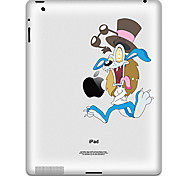 Cartoon Design Protective Sticker for iPad 1, iPad 2 ,iPad 3 and The New iPad