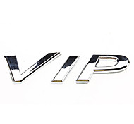Cool VIP Letters Pattern Personalized Metal Car Decorative Stickers