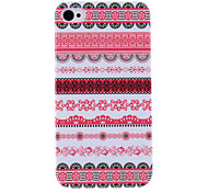 Flower Stripe Pattern Protective Hard Case for iPhone 4/4S