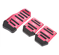 3-pieces Fashionable Universal Non-slip Pedal Series (Assorted Color)