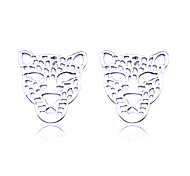 Lureme®Alloy Hollow-out Leopard Pattern Earrings(Assorted Colors)