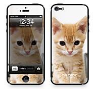 """Codice Da ™ Pelle per iPhone 4/4S: """"Kitty"""" (serie animali)"""