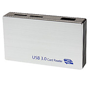 High Speed USB 3.0 CARD READER6 slots (Can read  MS,CF,M2,SD,SM/XD,T-FLASH)