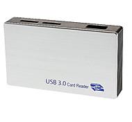 High Speed USB 3.0 карты reader6 слотов (может читать MS, CF, м2, SD, SM / XD, T-Flash)