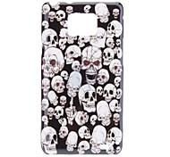 Skull Pattern Case Duro para Samsung I9100 Galaxy S2