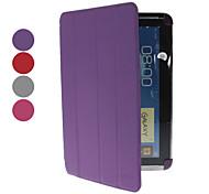 Microgroove Patroon PU lederen tas met standaard en voor Samsung Galaxy Note N8000 10,1 (verschillende kleuren)