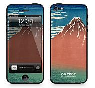 """da Code ™ für iphone 5/5s: """"Hundert Ansichten des Berges Fuji"""" von Katsushika Hokusai (Meisterwerke Serie)"""